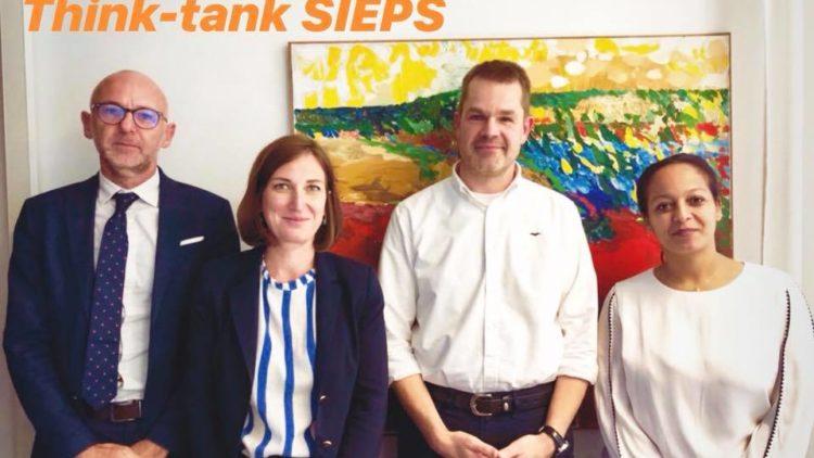 Rencontre avec les membres du think-tank SIEPS – 24 septembre 2019