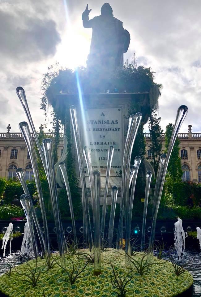 Inauguration du 16ème jardin éphémère à Nancy – 28 septembre 2019