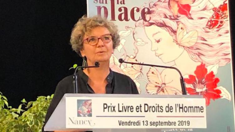 Remise du Prix Livre des Droits de l'Homme – 13 Septembre 2019