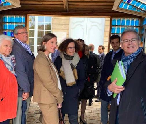 Emmanuelle Wargon, secrétaire d'Etat à la Transition écologique et solidaire en déplacement en Meurthe-et-Moselle – 4 octobre 2019