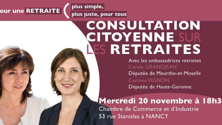 Atelier retraites à Nancy – 20 novembre 2019