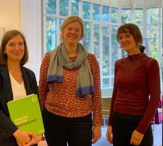 Echanges au Goethe-Institut – 8 novembre 2019