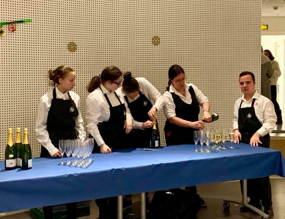 Inauguration du restaurant d'application de l'Institut des Sourds de la Malgrange – 12 décembre 2019