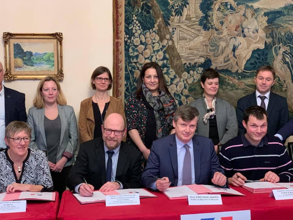 Signature de la convention départementale France Services de Meurthe-et-Moselle – 30 janvier 2020