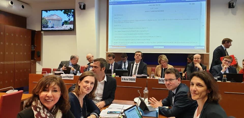 Retraites : examen en commission spéciale – 4 février 2020