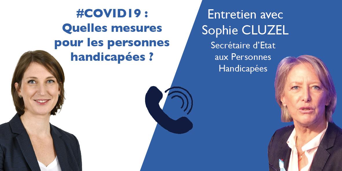 Handicap : entretien avec Sophie CLUZEL – 09.04.20
