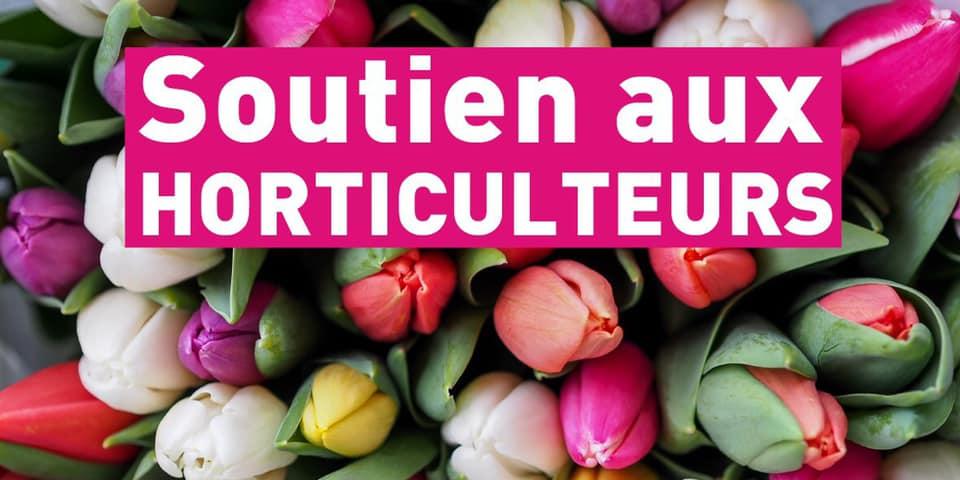 Soutien aux horticulteurs – 9 juin 2020