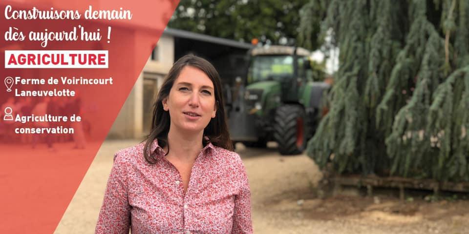 L'agriculture autrement à la ferme de Voirincourt – 9 juin 2020