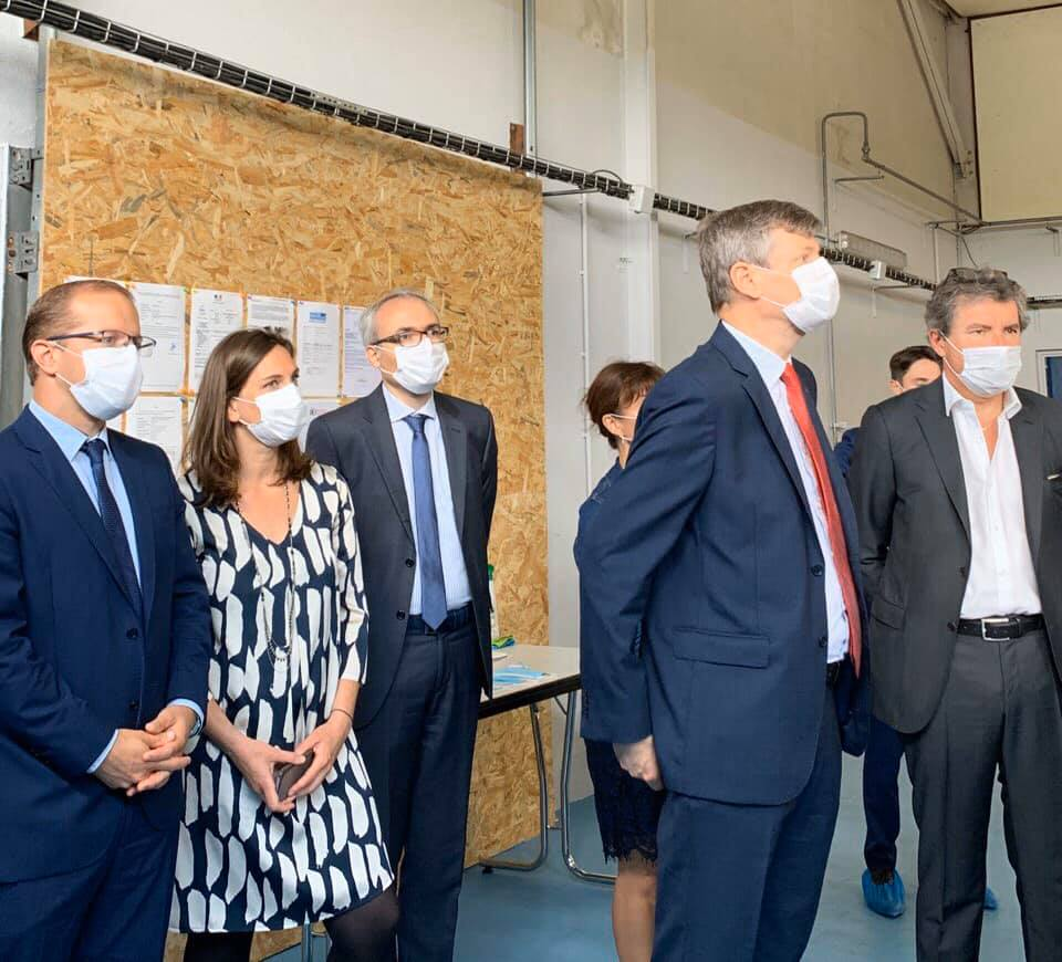 France Cardio : la création de masques en circuit court – 29 juin 2020