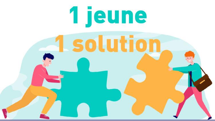 1 jeune, 1 solution ! – 23 juillet 2020