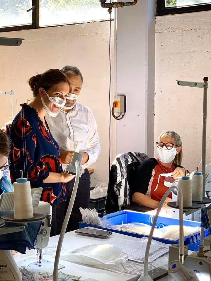 Des masques inclusifs, transparents et recyclables fabriqués par APF entreprises ! – 21 septembre 2020