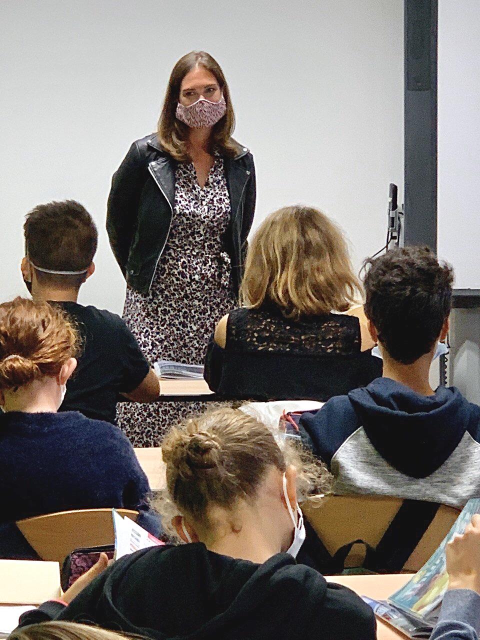 Les 6èmes font leur rentrée au collège Louis Marin à Custines – 1er septembre 2020