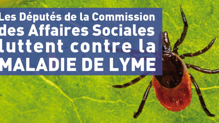 Les députés de la Commission des Affaires Sociales luttent contre la maladie de Lyme