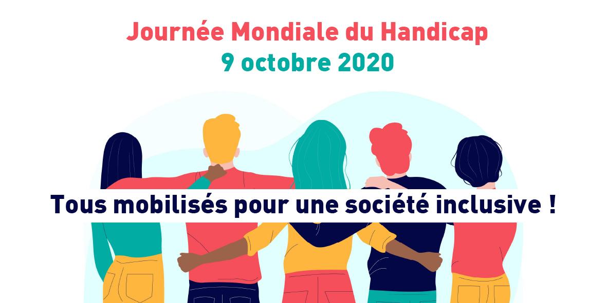 Journée Mondiale du Handicap – 9 octobre 2020