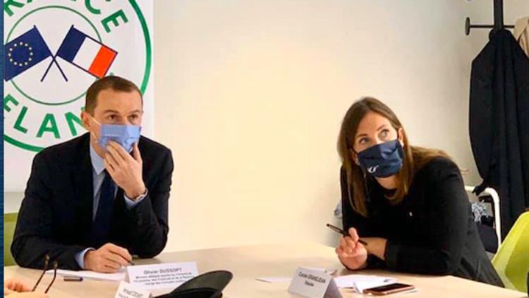 Soutien à l'économie en Meurthe-et-Moselle avec le Ministre Olivier DUSSOPT – 9 novembre 2020