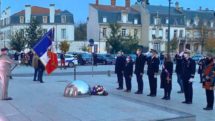 🇫🇷Commémoration du 102ème anniversaire de l'armistice du 11 Novembre 1918