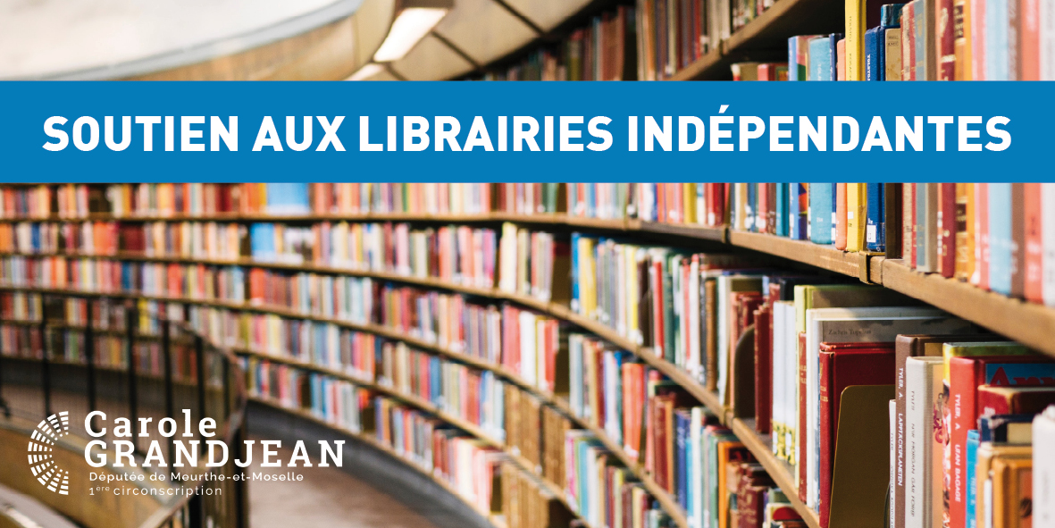 Soutien aux librairies indépendantes – 5 novembre 2020