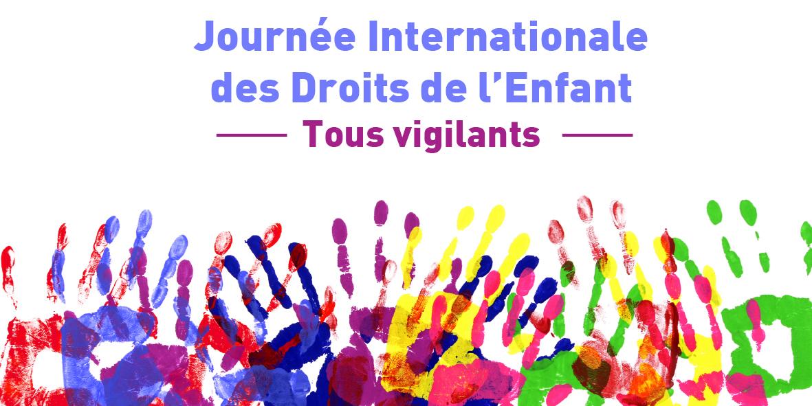 Journée Internationale des Droits de l'Enfant – 20 novembre 2020