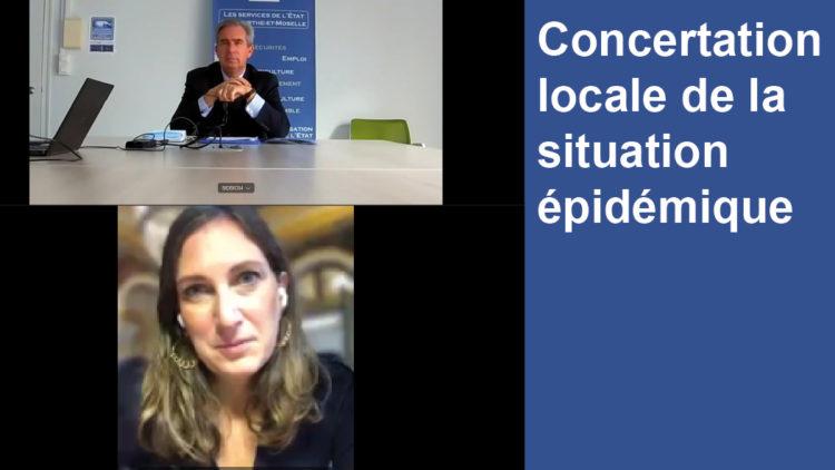 Concertation locale de la situation épidémique – 6 novembre 2020