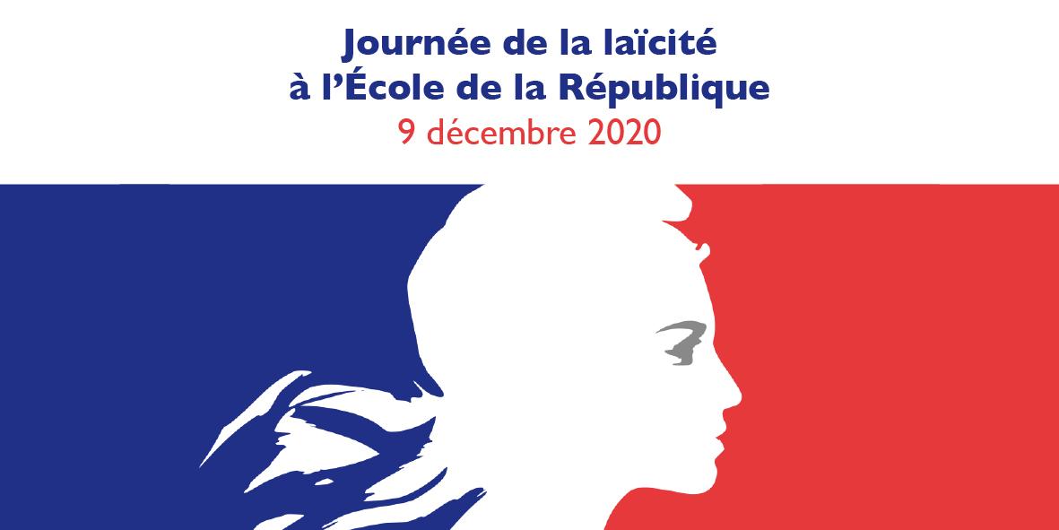Journée de la laïcité à l'Ecole de la République  – 8 décembre 2020