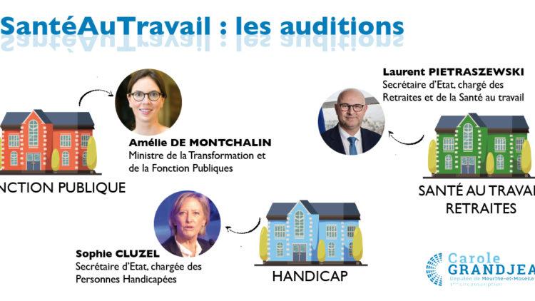 Santé au travail : audition des Ministres – 26 janvier 2021