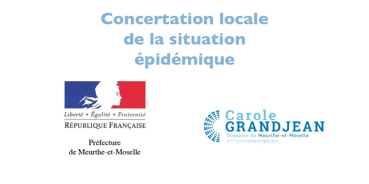 concertation locale de la situation épidémique