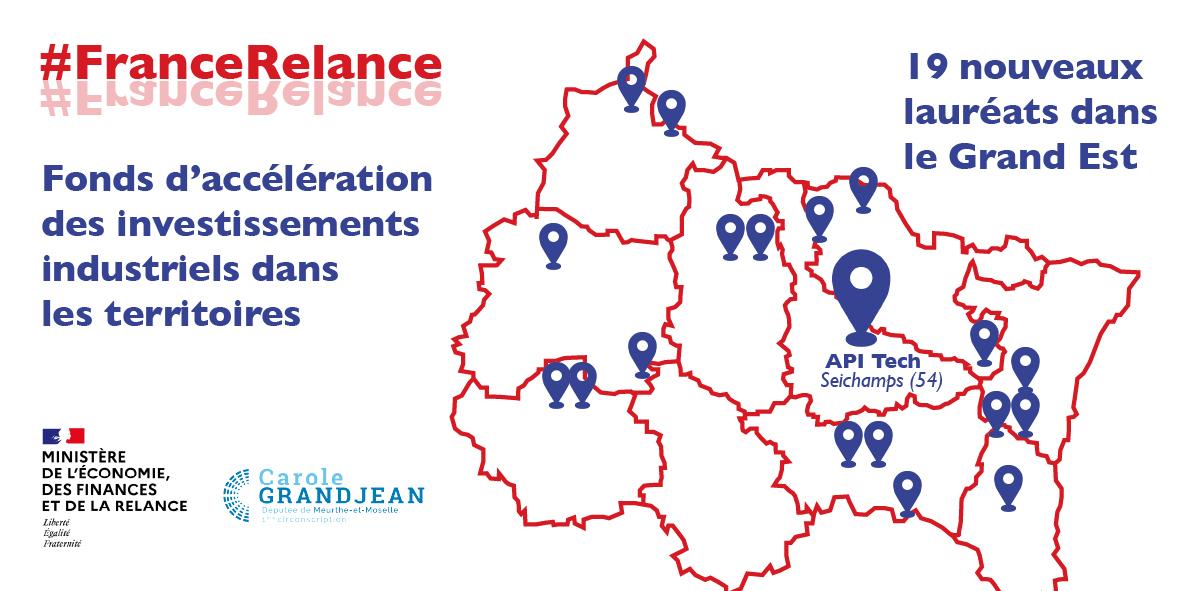 L'Etat investit dans l'industrie à Seichamps, en Meurthe-et-Moselle !