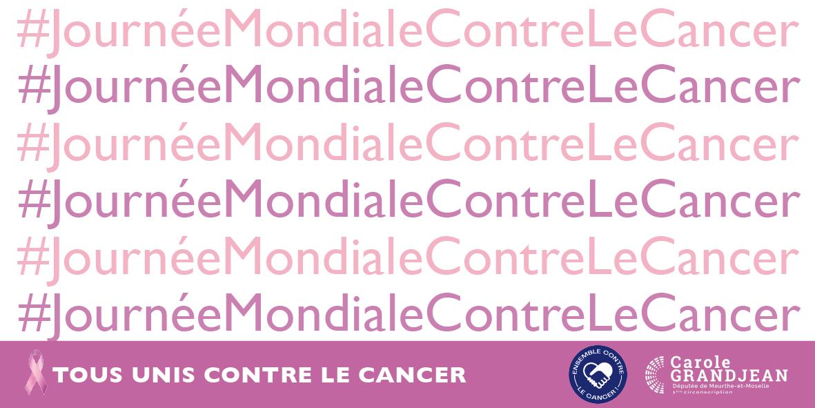 Journée Mondiale de Lutte contre le Cancer – 4 février 2021
