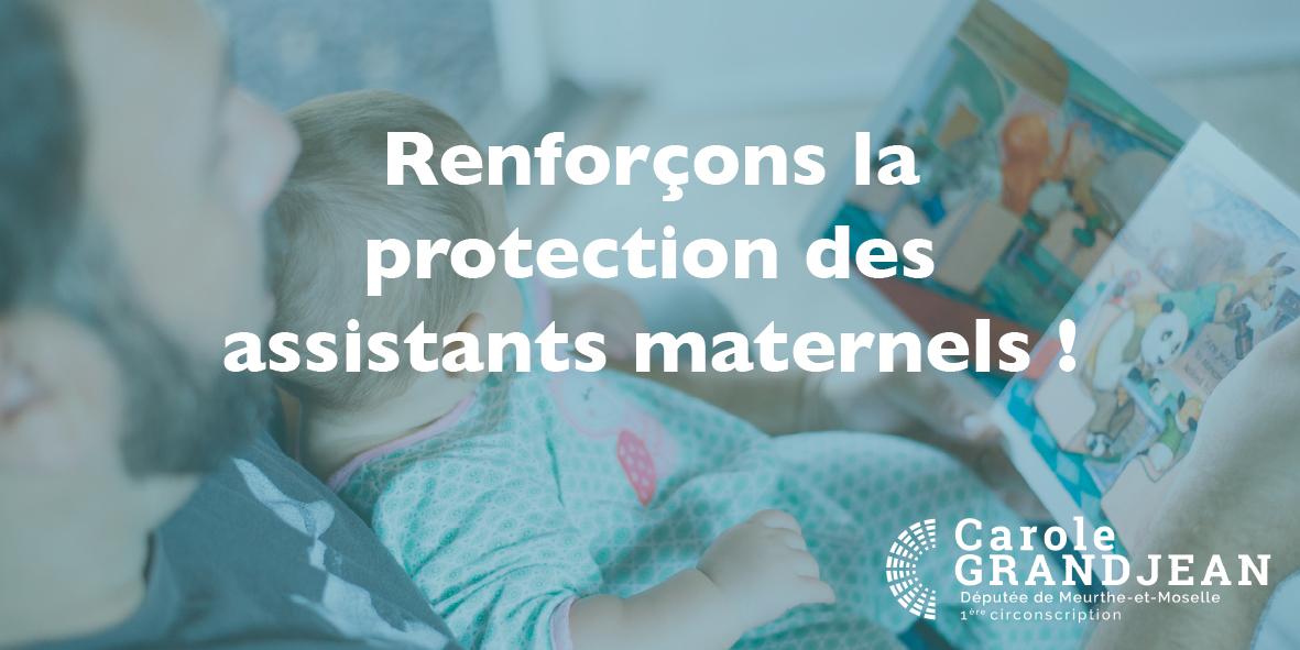 Renforçons la protection des assistants maternels – 4 mars 2021