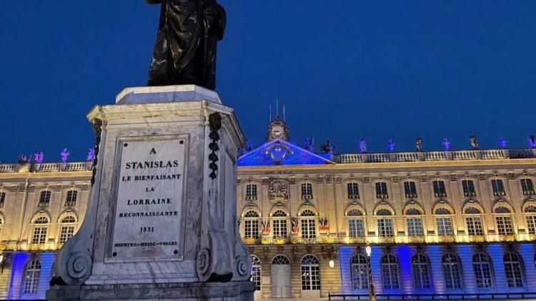 La Place Stanislas en bleu pour l'autisme – 2 avril 2021