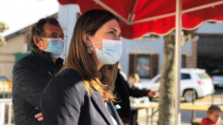 Jour de marché à Moncel-sur-Seille – 2 avril 2021