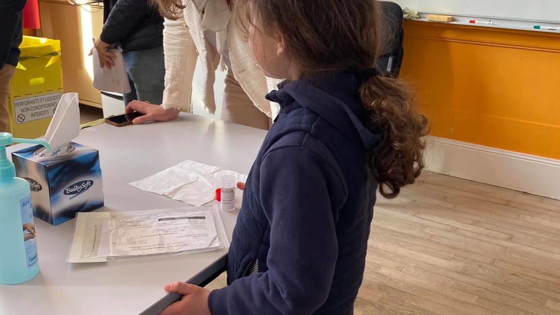 Déploiement des tests salivaires dans les écoles – 26 avril 2021