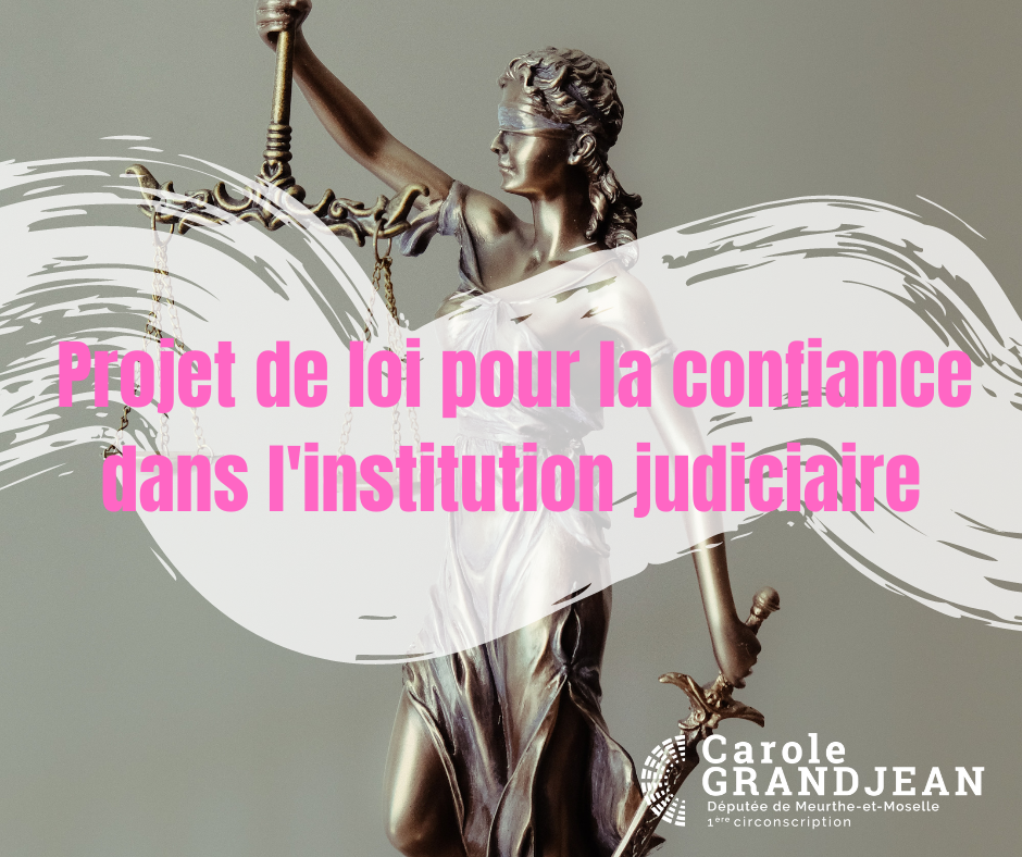 Projet de loi pour la confiance dans l'institution judiciaire – 14 avril 2021