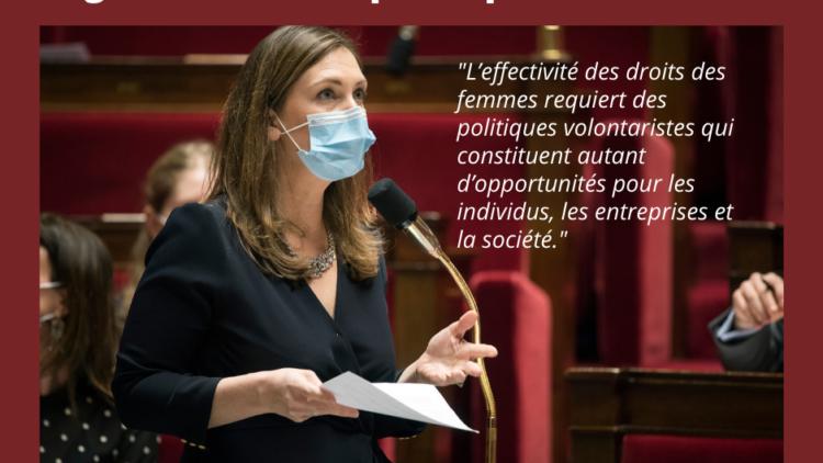Responsable de la PPL visant à accélérer l'égalité économique et professionnelle – 13 avril 2021