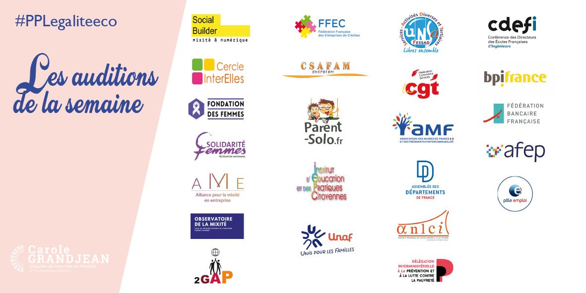 Travail préparatoire à la PPL égalité économique et professionnelle – 23 avril 2021