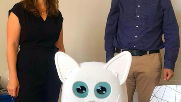 Innovation en Lorraine : Lupix le robot compagnon  – 31 mai 2021