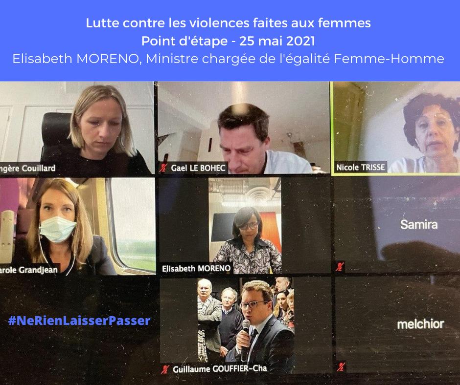 Lutte contre les violences faites aux femmes  – 25 mai 2021