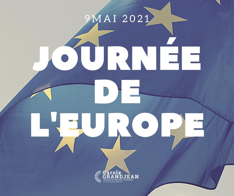 Journée de l'Europe – 9 mai 2021