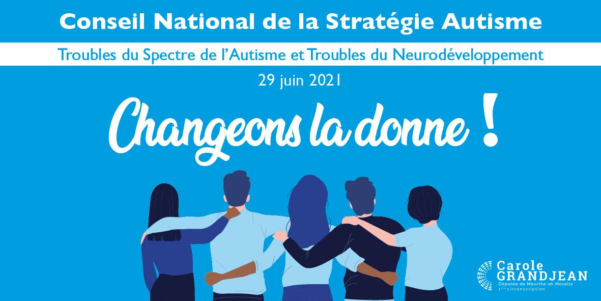 Conseil National de la Stratégie Autisme – 29 juin 2021