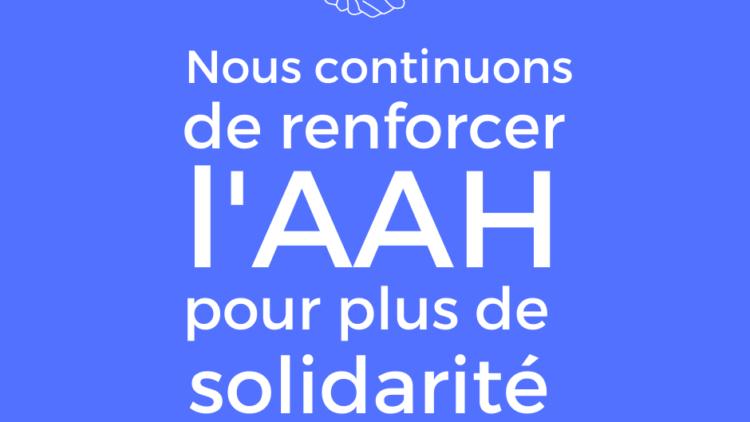 Renforcement de l'AAH – 29 septembre 2021