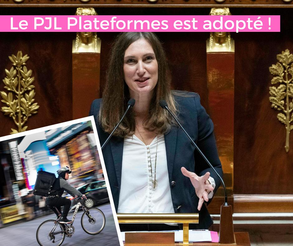 Adoption du PJL Plateformes – 28 septembre 2021