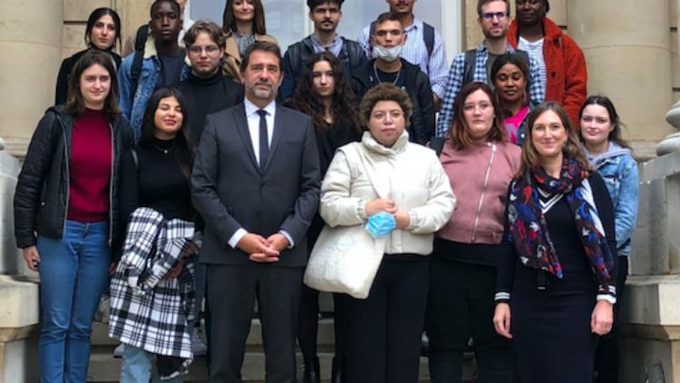 L'E2C visite l'Assemblée Nationale – 20 octobre 2021
